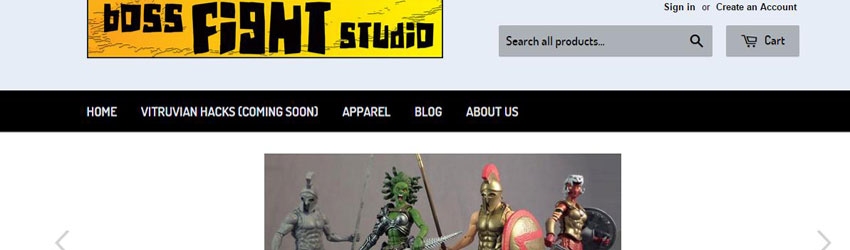 The Boss Fight Studio Webstore is open for business!