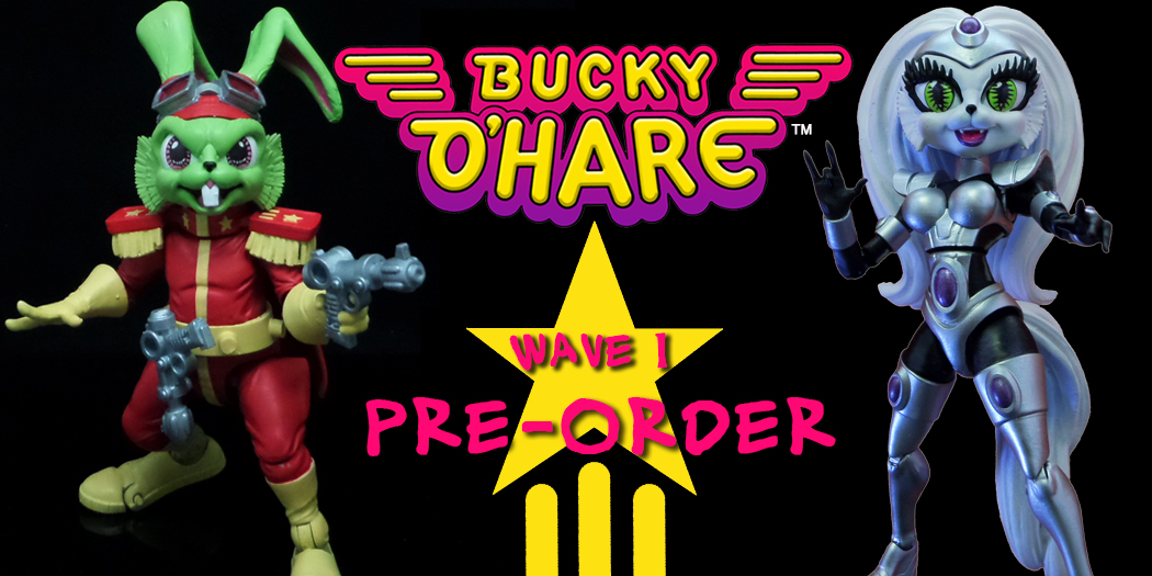 Bucky O'Hare wv1 up for Pre-Order!
