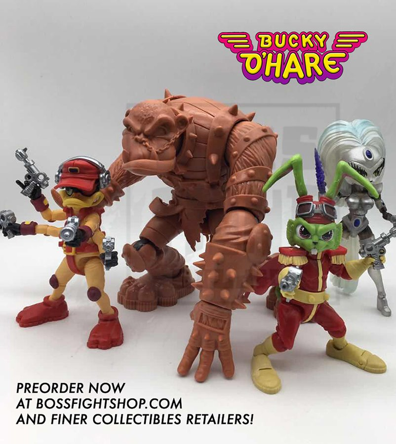 Bucky O'Hare Bruiser Pre-Orders live on BossFightShop!