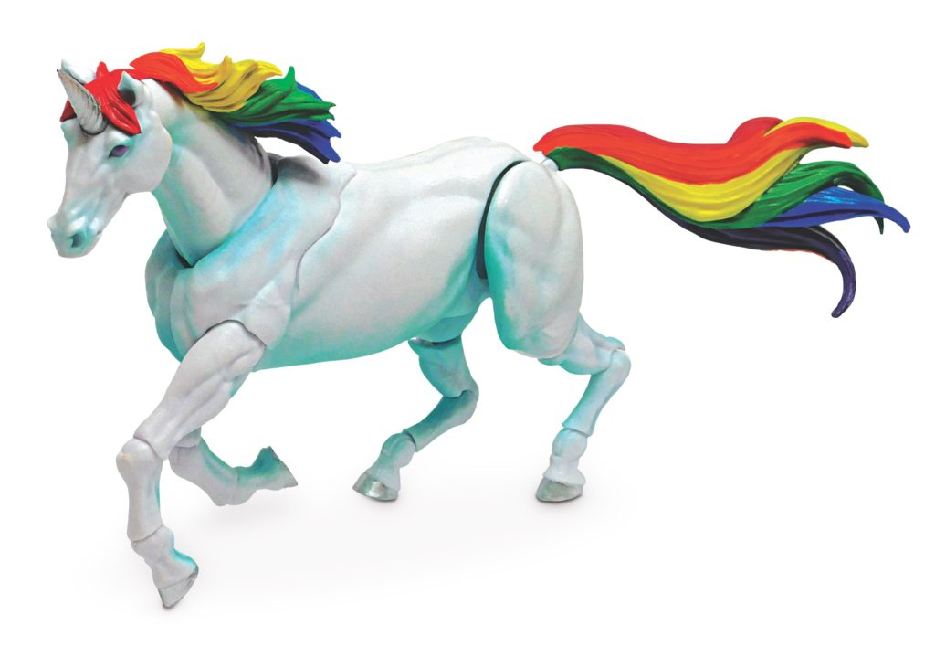 Frankie the Unicorn action figure