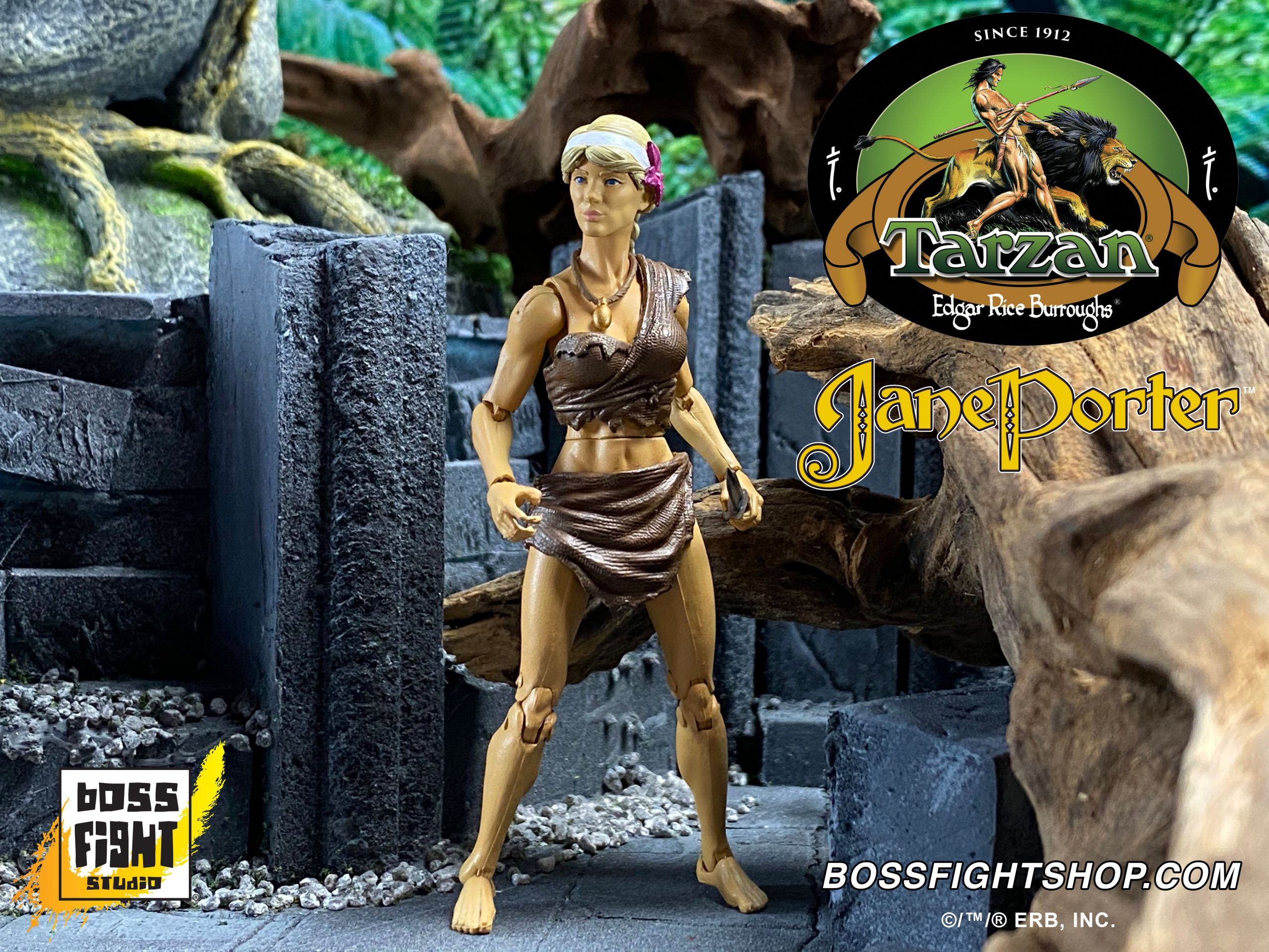 Jane from the action figure series by Boss Fight Studio