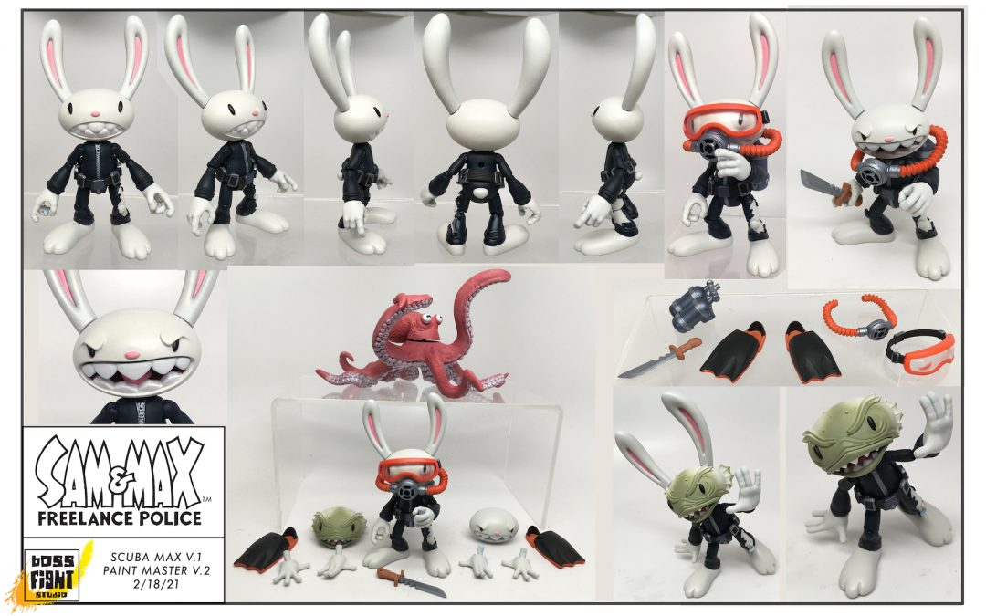 New Sam & Max Figures Coming!